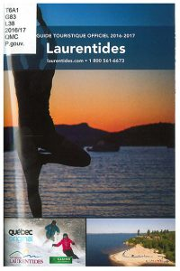 Guide touristique officiel 2016-2017: Laurentides